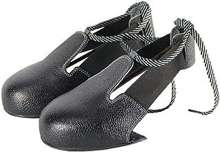 Zhuotop Anti-Smashing Steel Toe Cap Anti-Slip Safety Access Protective Shoe Cover Wear-Resistant Hard Bottom