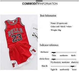 Conjunto Infantil De Niños del Equipo Juvenil De La NBA - Bulls Jordan # 23 / Lakers James # 23 / Warriors Curry # Baloncesto Baloncesto Jersey Jersey Bordado Entrenamiento para Niños Y Niñas