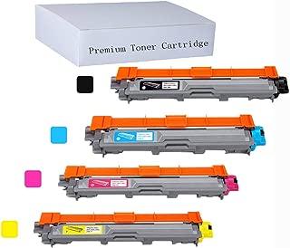 YOUUDING Toner Cartridge&Ink Laser Printer for Brother TN221 TN225, BK2500,CMY2200Pages (1Black,1Cyan,1Magenta, 1Yellow), MFC-9340CDW HL-3140CW HL-3170CDW HL-3180CDW MFC-9130CW MFC-9330CDW