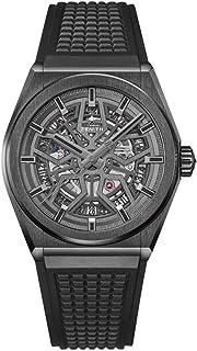 Zenith Novelty Defy Classic Mens Watch Black Ceramic Case 41mm 49.9000.670/77.R782