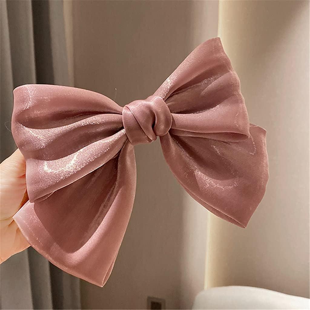 XKAOL Oversized Bow Headdress Hairpin 5 5 ☆ popular popular A Hair Temperament