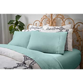Magnolia Organics Dream Collection Sheet Set - King, Clear Water