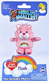 Worlds Smallest Care Bear Cheer Bear Plush 3