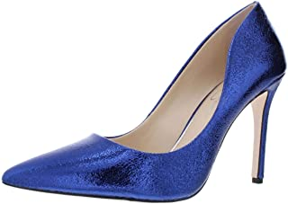 Jessica Simpson Womens Cassani Fabric Pointed Toe, Colbalt Blue, Size 5.0