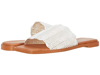 ALOHAS Relaxa Flat Sandals (White) Women