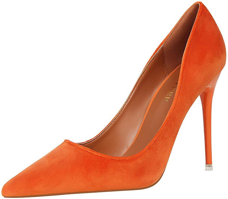 Meimeioo Women's Classic Pointed Toe Stiletto High Heel Dress Pumps shoes