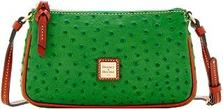 Ostrich Lexington Crossbody Shoulder Bag Green