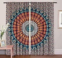 Indian Mandala Hippie Curtain