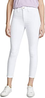 Joe's Jeans Womens TDCHNE5734 The Charlie Crop Jeans - White