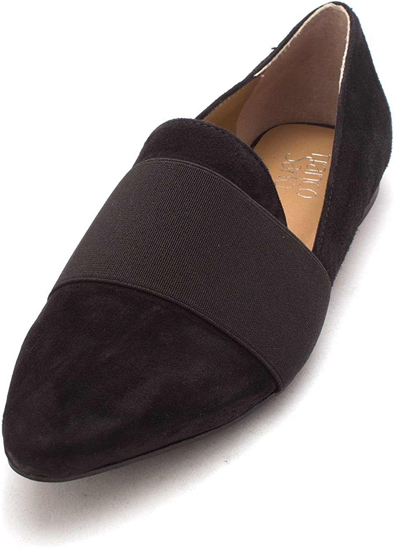 Franco Sarto Womens Scranton Leather Pointed Toe Mules