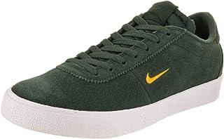 Nike Men's SB Zoom Bruin Midnight Green/Yellow Ochre Skate Shoe 8 Men US