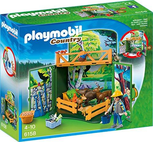 Playmobil 6158 - Waldtierfütterung, Aufklapp-Spiel-Box