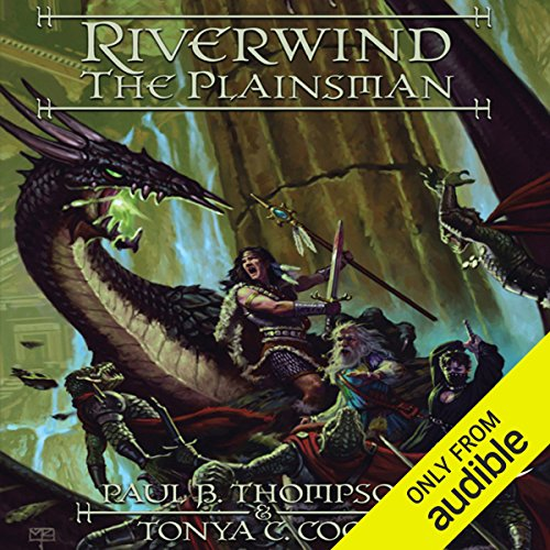 Riverwind the Plainsman audiobook cover art
