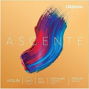 Cuerdas para violín D'Addario, Set Completo, 4/4 Scale