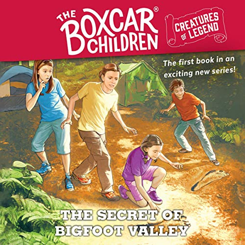 The Secret of Bigfoot Valley cover art