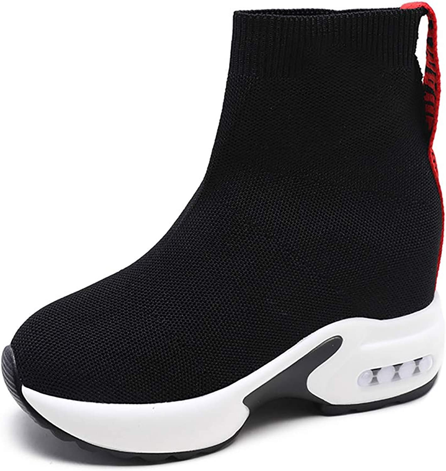 Winter Boots Women, with Comfortable Flat Solid color Women's shoes,Red,37