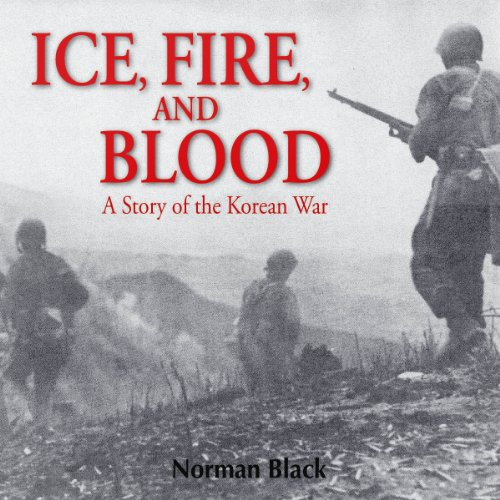 Ice, Fire, and Blood audiobook cover art
