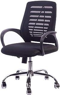 Sillón Las sillas de Escritorio, Silla de Oficina ergonómico Lumbar giratoria Silla de Escritorio, Malla de Escritorio de Oficina Silla de la computadora de tareas de Silla con Brazos Silla Taburete