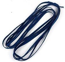 HMYDZ 5yards 5mm kleurrijke zachte Elastic Band Core Flat elastisch koord White Rubber Band Elastic Line DIY Naai Accessoi...