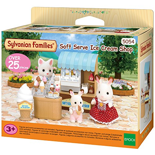 SYLVANIAN FAMILIES- Soft Serve Ice Cream Shop Mini muñecas y Accesorios, Multicolor (Epoch para Imaginar 5054)