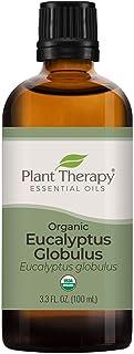 Plant Therapy Organic Eucalyptus Globulus Essential Oils 100% Pure, USDA Certified Organic, Undiluted, Natural Aromatherap...