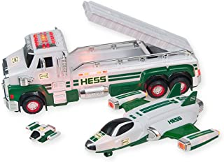 2014 Hess Toy Truck And Space Cruiser With Scout Already Gift Wrapped in Green Hess Color!