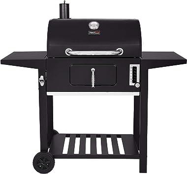 Royal Gourmet CD1824AX 24-Inch Charcoal Grill Outdoor BBQ Smoker Picnic Camping Patio Backyard Cooking, Black