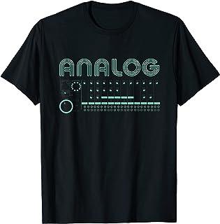 Productor de música sintetizador modular analógico retro Camiseta