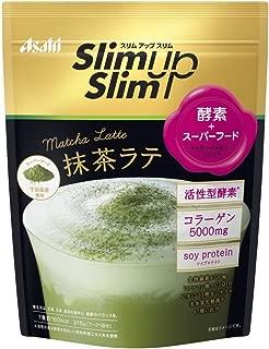 アサヒグループ食品 スリムアップスリム 酵素+スーパーフードシェイク 抹茶ラテ 315g