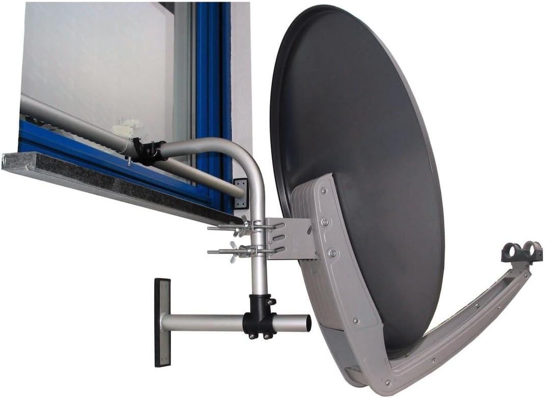 Hama Easy Mount - Soporte para antena parabólica para ventana ...