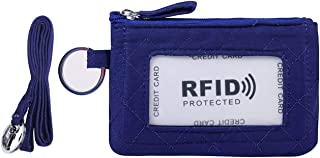 Zip ID Case and Lanyard/Coin Purse with Id Window & Key Ring