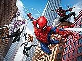 1art1 Spider-Man - Skyscrapers, Marvel Fototapete Poster-Tapete 360 x 254 cm