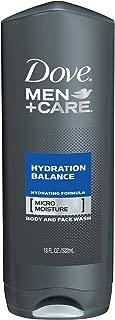 Dove Men + Care Body & Face Wash - Hydration Balance - Net Wt. 18 FL OZ (532 mL) Each - Pack of 2