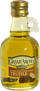 Grand'aroma Truffle Extra Virgin Olive Oil Flavored, 8.5-Ounce Bottles (Pack of 3)