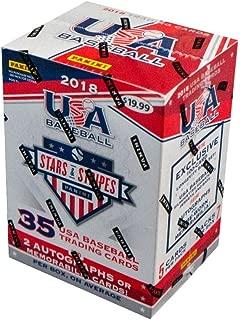 2018 Panini USA Stars & Stripes Baseball Blaster Box
