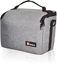 Should Bag for Sony, Nikon, Canon, Fujifilm Mirrorless, Compact System Camera, DSLR, Travel, Accessory, Compatible, Photography, Travel Outdoor (Gray)