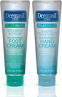 Hand and Foot Repair Cream - Dermasil Labs Dermatologists Treatment for Nourishing & Moisturizing 2-in-1 Relief, Protection & Repair Cream (Pack of 2)