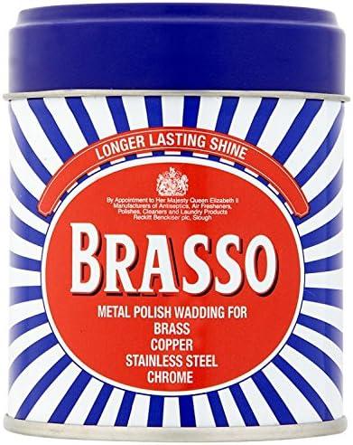 Brasso Metal Polish Wadding 75 g - Pack of 3