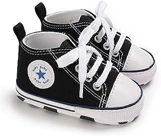 DEBAIJIA Bambino Scarpe Espadrillas 0-18M Suola Morbida Ragazzo Tela Sneaker Infantile Antiscivolo Traspirante