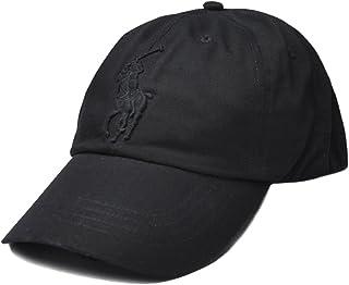 (ポロラルフローレン) ポロ ラルフローレン メンズ ヴィンテージ キャップ 帽子 ビッグポニー 黒 [ブラック] [並行輸入品]