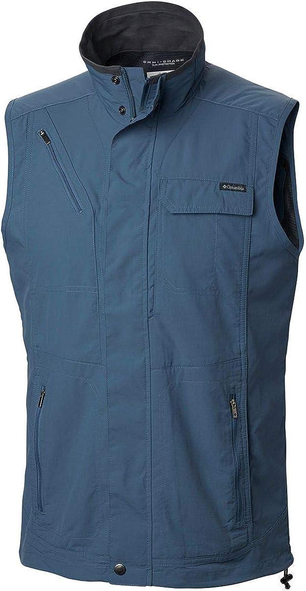 Columbia Max 44% OFF Men's Silver Ridge II Moisture Luxury Vest Wicking Sun Prote