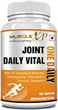 MuscleXP MultiVitamin Joint One Daily Vital with Glucosamine, Chondroitin, Curcumin 95% - 60 Tablets
