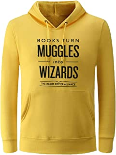 Unisex Books Turn Muggles Into Wizards Cute Hoodies