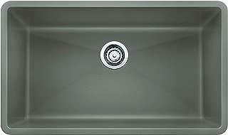 BLANCO 441297, Truffle PRECIS SILGRANIT Undermount Kitchen Sink, 32