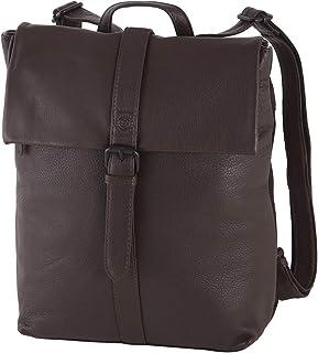 Sattlers & Co. Damenrucksack Radiosa The Guranda | schicker Rucksack für Damen | mit großem Reißverschlussfach | aus echte...