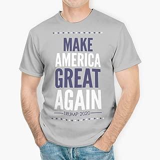 The Sequel Make America Great Again Trump 2020 Men's Cotton Funny T Shirt