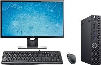 Dell Optiplex 3060 Computer Micro PC Bundle, 24
