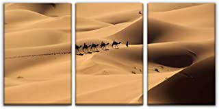 Gracelapin Modern Canvas Painting in Middle of The Desert Wall Art Artwork Decor Printed Oil Painting Landscape Home Offic...