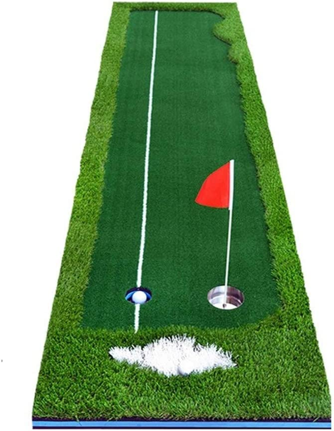 AUKLM Putting mat Chicago Mall golfGolf Golf Outd Indoor and Max 73% OFF Green Putter
