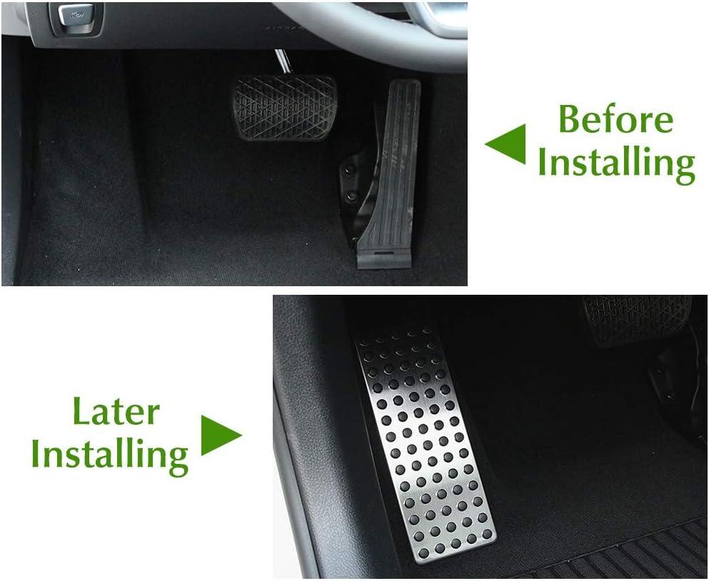 Color : Silver P/édale Repose-Pieds Voiture Pad Cover//for Mercedes Benz A B C E S CLS CLA GLA GLK ML Classe GL W176 W246 W204 W205 W212 W213 X166